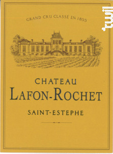 Château Lafon-Rochet - Château Lafon-Rochet - 2015 - Rouge