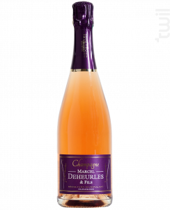 Rosé Brut - Champagne Marcel Deheurles et Fils - Non millésimé - Effervescent