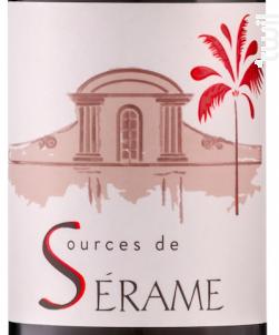 Sources de Sérame - Les Vignobles d'Exéa - 2019 - Rouge