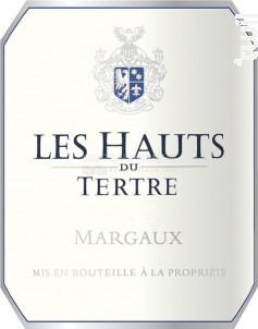 LES HAUTS DU TERTRE - Château du Tertre - 2016 - Rouge