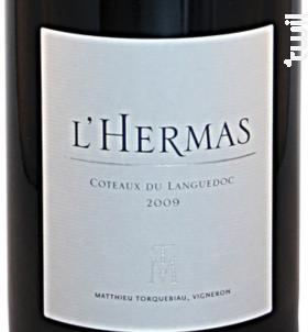 L'Hermas - Domaine De L'hermas - 2018 - Rouge