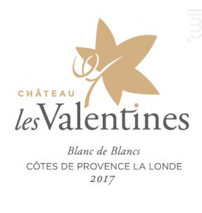 Château Les Valentines - Château les Valentines - 2019 - Blanc