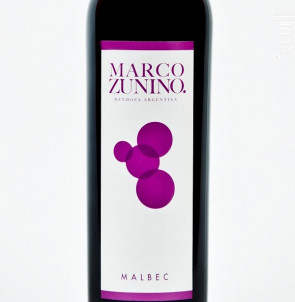 Malbec - Bodega Marco Zunino - 2014 - Rouge