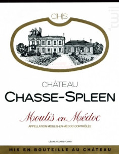 Château Chasse-Spleen - Château Chasse-Spleen - 2002 - Rouge