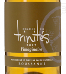 L'imaginaire - DOMAINE DES TRINITÉS - 2017 - Blanc