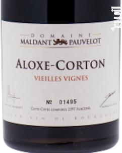 Aloxe Corton - Vieilles Vignes - Domaine Maldant - Pauvelot - 2014 - Rouge