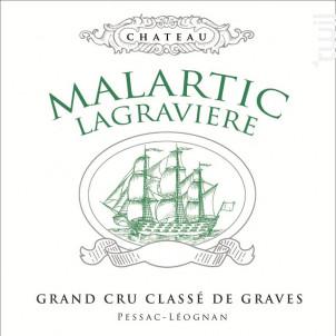 Château Malartic-Lagravière - Château Malartic-Lagravière - 2019 - Blanc