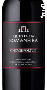 Quinta Da Romaneira Vintage - QUINTA DA ROMANEIRA - 2011 - Rouge