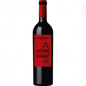 Merlot Tannat - Vignobles Alain Brumont - 2016 - Rouge