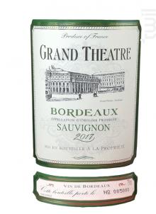 Grand Théâtre Sauvignon - Univitis - 2017 - Blanc