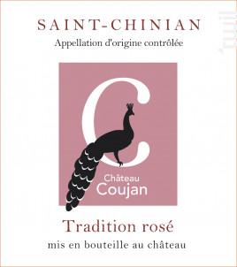 Cuvée Tradition - Château Coujan - 2018 - Rosé
