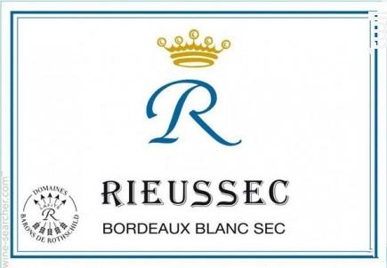R de Rieussec - Domaines Barons de Rothschild - Château Rieussec - 2016 - Blanc