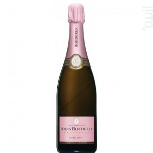Champagne Roederer - Rosé 0.75l - Champagne Louis Roederer - Non millésimé - Effervescent