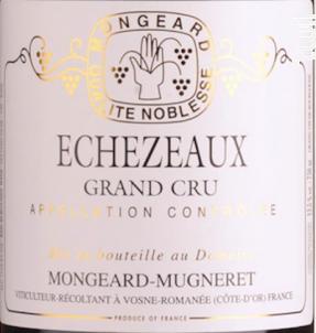Echezeaux - Domaine Mongeard-Mugneret - 2015 - Rouge