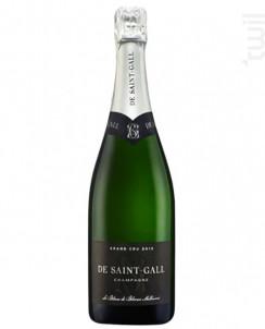 Blanc de Blancs Millésimé Grand Cru - Champagne de Saint-Gall - 2013 - Effervescent