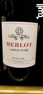 Merlot - Trilles - 2018 - Rouge