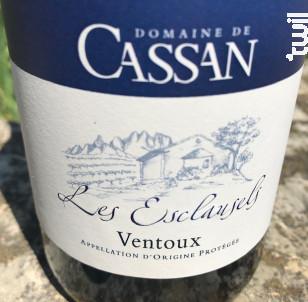 Les Esclausels - Domaine de Cassan - 2018 - Rouge