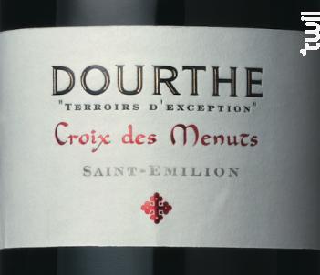 Croix des Menuts Terroirs d'exceptions - Croix des Menuts - 2015 - Rouge