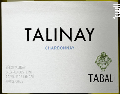 Talinay - chardonnay - TABALI - 2019 - Blanc
