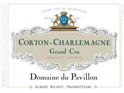 Corton-Charlemagne Grand Cru - Domaine du Pavillon - Domaines Albert Bichot - 2017 - Blanc