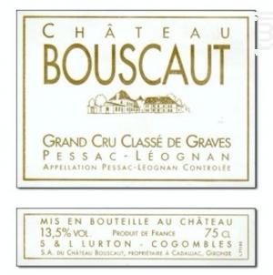 Château Bouscaut - Château Bouscaut - 2005 - Rouge