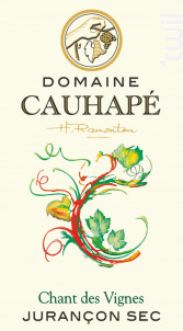 Chant des vignes - Domaine Cauhapé - 2018 - Blanc