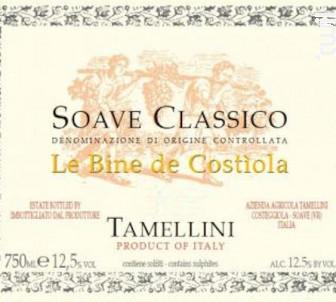 CLASSICO LE BINE DE COSTIOLA - Tamellini - 2013 - Blanc