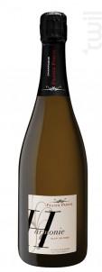 Harmonie  - Blanc de Noirs Extra Brut - Champagne Franck Pascal - 2010 - Effervescent
