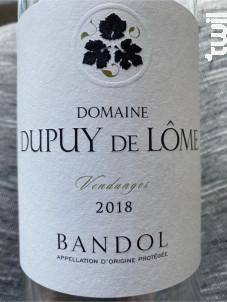 Bandol - Domaine Dupuy de Lôme - 2018 - Rosé