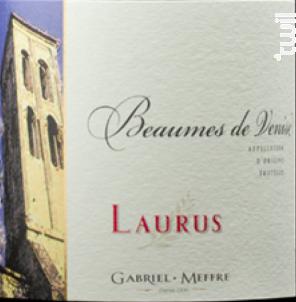 Laurus - Beaumes-de-Venise - Maison Gabriel Meffre - 2016 - Rouge