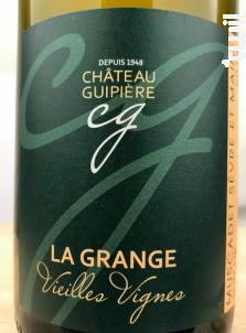Muscadet Sèvre Et Maine Sur Lie - La Grange - Château Guipière - 2017 - Blanc
