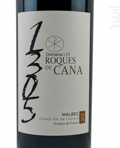 1305 - Les Roques de Cana - 2018 - Rouge