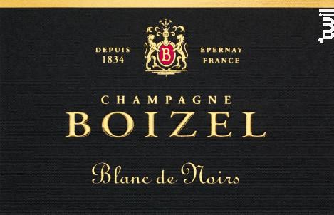 Blanc de Noirs - Champagne BOIZEL - Non millésimé - Effervescent