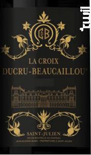 La Croix Ducru Beaucaillou - Château Ducru-Beaucaillou - 2018 - Rouge
