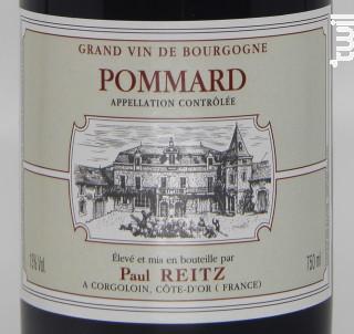 Pommard - Maison Paul Reitz - 2016 - Rouge