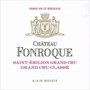 Château Fonroque - Château Fonroque - 2015 - Rouge