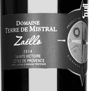 Zaello - Domaine Terre de Mistral - 2016 - Rouge