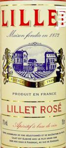 Lillet Rosé, Podensac (bordeaux) - Apéritif Rosé - Lillet - Non millésimé - Rosé