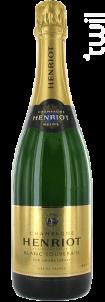Blanc Souverain - Champagne Henriot - Non millésimé - Effervescent