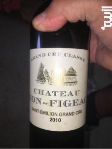 Château Yon-Figeac - Château Yon Figeac - 2010 - Rouge