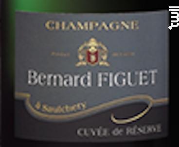 Cuvée Réserve - Champagne Bernard Figuet - Non millésimé - Effervescent