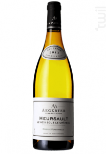 Meursault Meix sous le Château - Jean Luc et Paul Aegerter - 2014 - Blanc