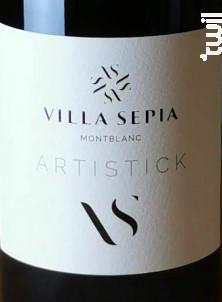 Artistick - Villa Sépia - 2018 - Rouge