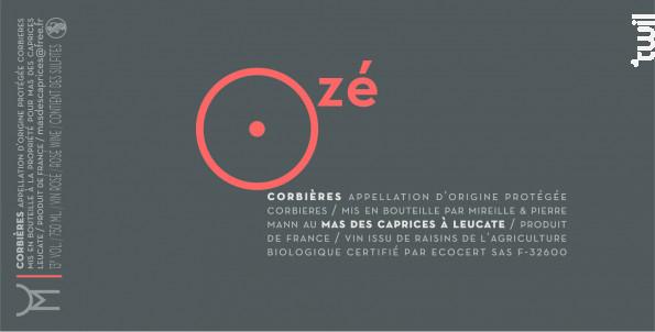 Ozé - Mas des Caprices - 2017 - Rosé