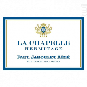 La Chapelle - Paul Jaboulet Aîné - 1989 - Rouge