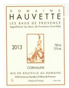 Cuvée Cornaline - Domaine Hauvette - 2013 - Rouge