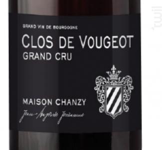 Clos de Vougeot Grand Cru - Maison Chanzy - 2016 - Rouge