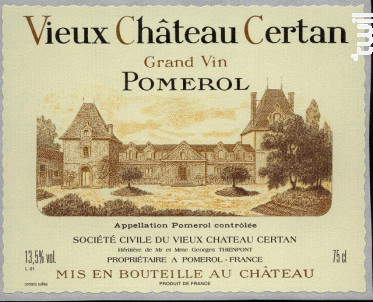 Vieux Château Certan - Vieux Château Certan - 2016 - Rouge