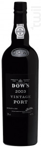 Dow's Vintage - DOW'S Port - 2007 - Rouge