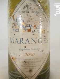 Maranges - Contat-Grangé - 2000 - Blanc